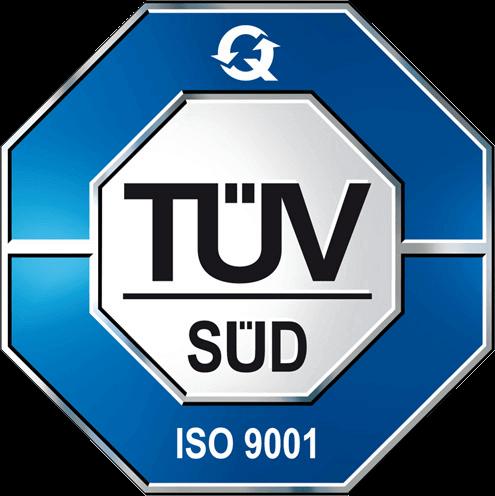 Autocarrozzeria Roma Logo TUV ISO 9001